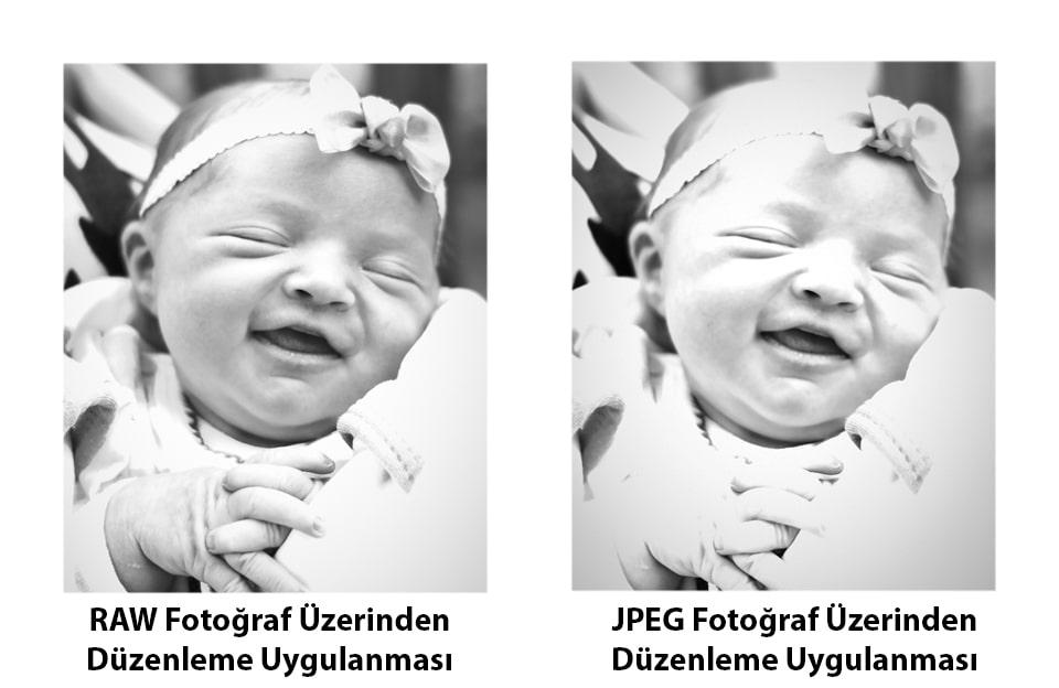 RAW vs JPEG Fotoğrafı Düzenlemek